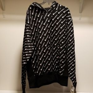 NWT Champion Reverse Weave All Over Print Hoodie